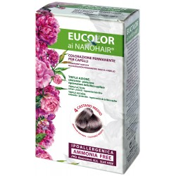 EUCOLOR TINTURA 4 CASTANO MEDIO 60 ML