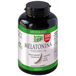 MELATONINA 1 mg 500 COMPRESSE