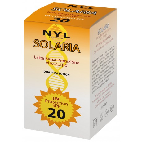 SOLARIA LATTE SPF 20 50 ml